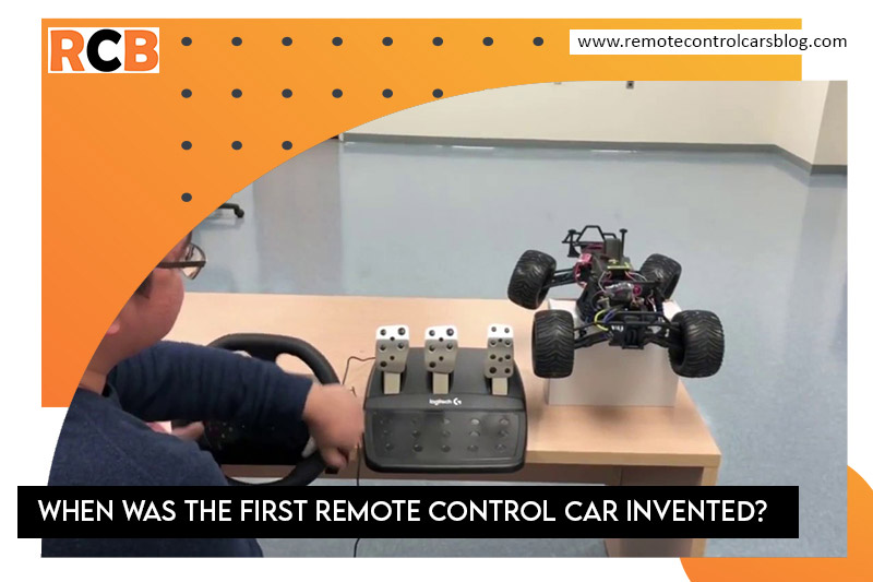 When Was The First Remote Control Car Invented