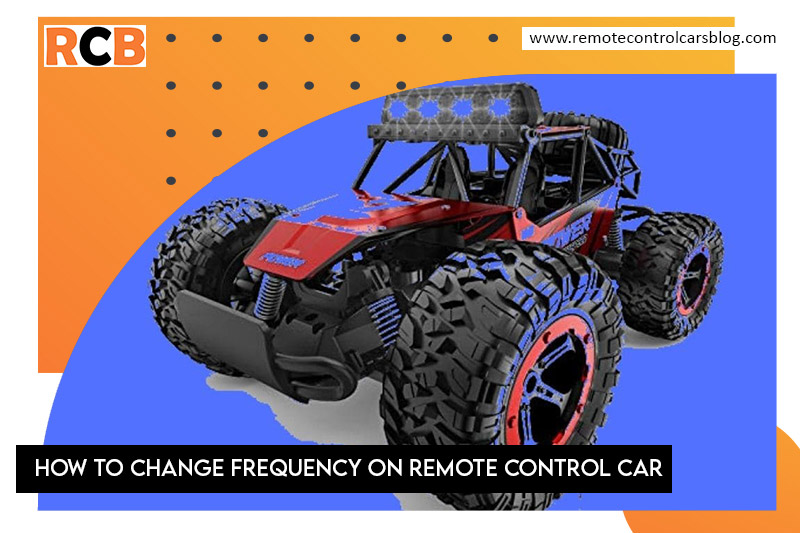 change frequency on remote control car