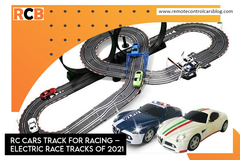RC Cars Track for Racing Electric Race tracks