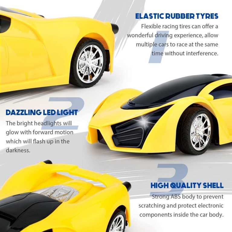 Lamborghini remote control car with steering wheel for kid