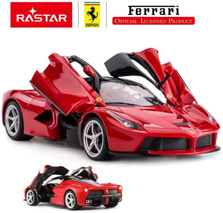 Red Colored Remote Controlled Officially Licensed Ferrari