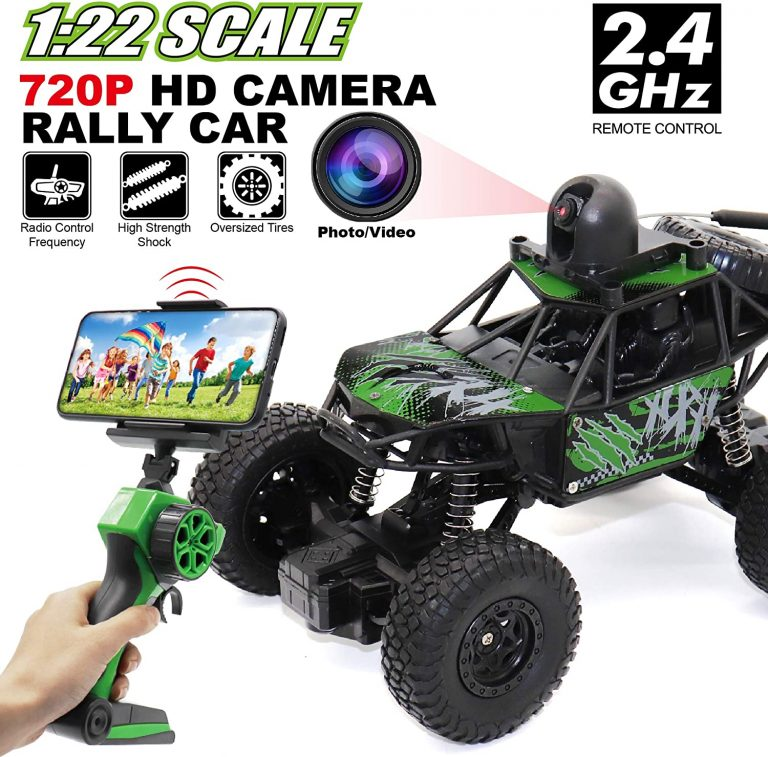 Spy Car Rc Controlled WITH FITTED CAMERA by ToysLi