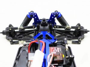How does RC car steering work