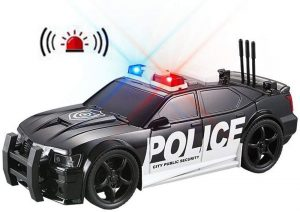 Fully Functional Police Rescue Car