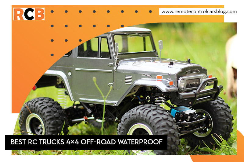 Best RC Trucks 4x4 Off-Road Waterproof