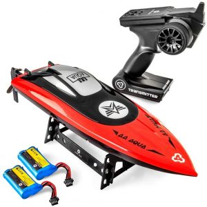 Altair AA102 RED RC Boat for Pools or Lakes