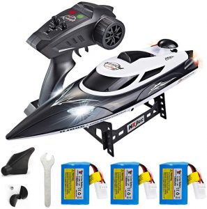 XFUNY HJ806 RC Boat 2.4GHz 35km/h Fast Portable Remote