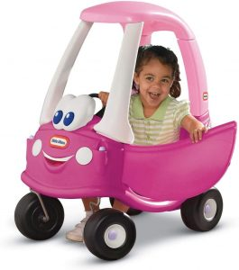 Pink Electric car for kids