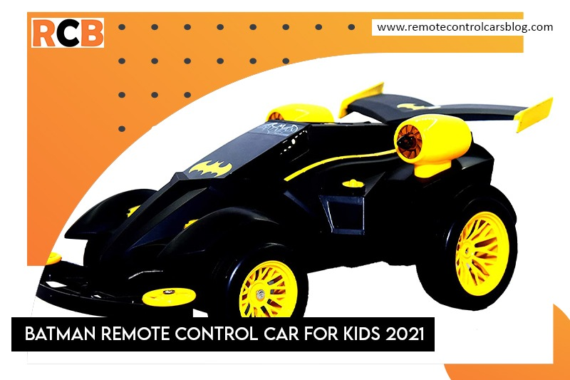 Batman Remote Control Car For Kids