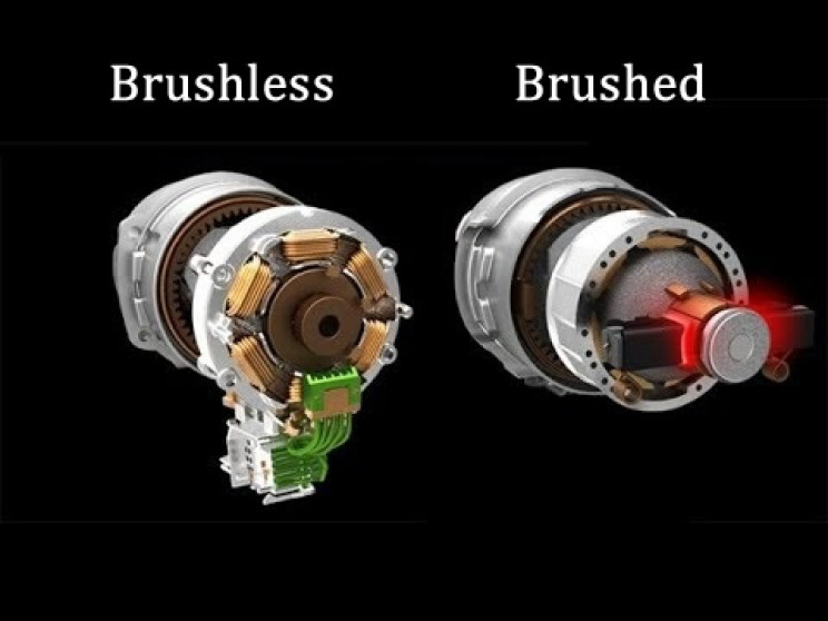 What is the difference between brushless and brushed motor